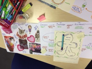 Visual learning in action