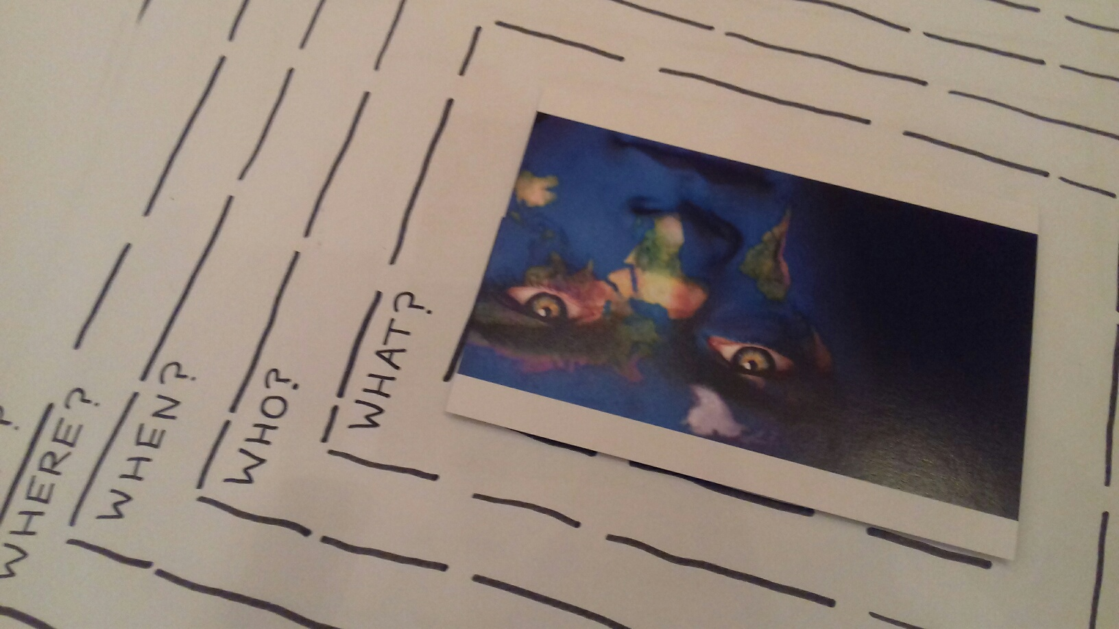 Postcards as a focus for writing