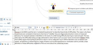 Using Mind Genius to Add Writing to Mind Maps