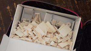 Unpacking the Mindful Lego suitcase