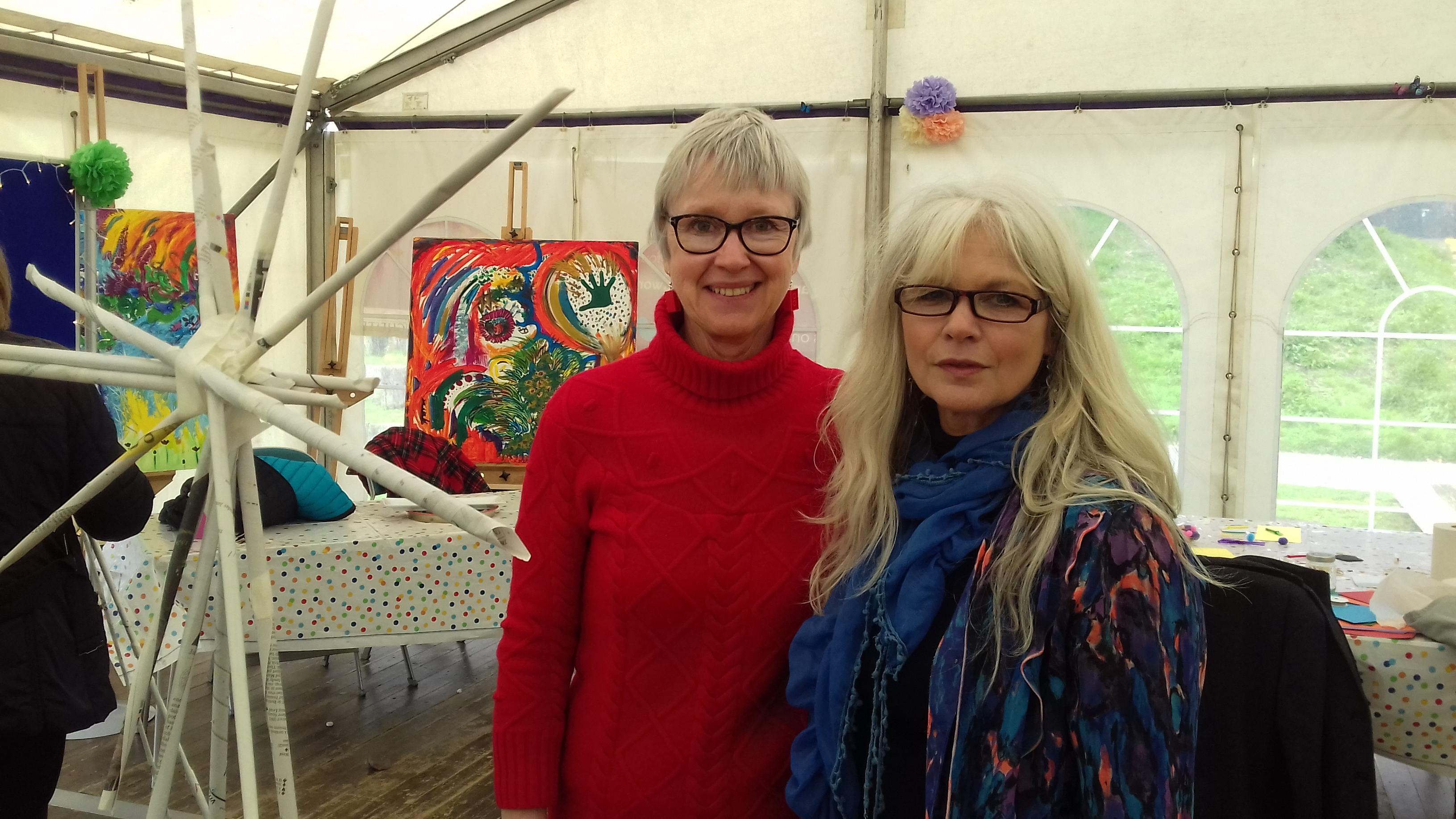 Alison James and Tina Newman