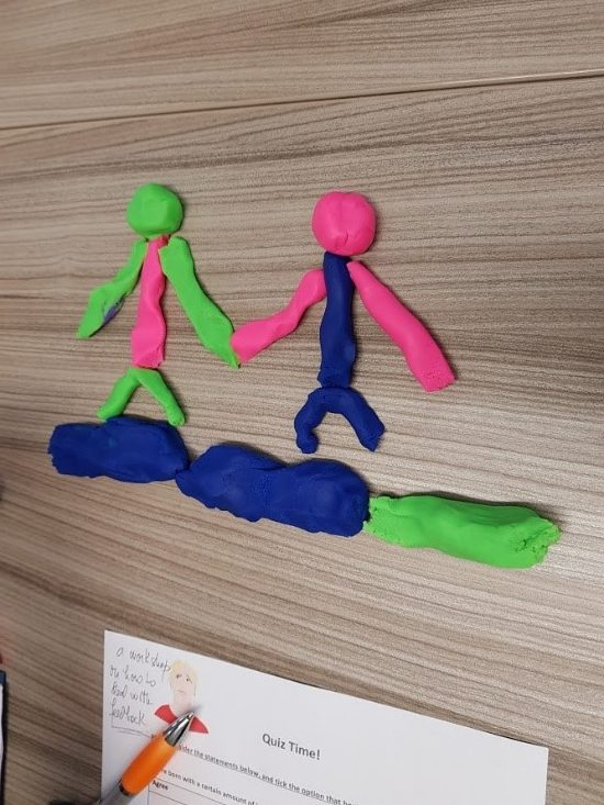 Reflecting on pedagogical practice with Play Doh