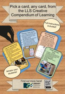 DMU LSS Creative Compendium of Learning Poster