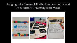 Alison James Mindbuilder competition
