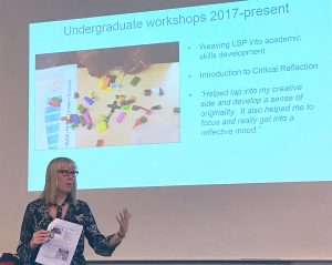 Julia Reeve Weaving creative learning into UK HE
