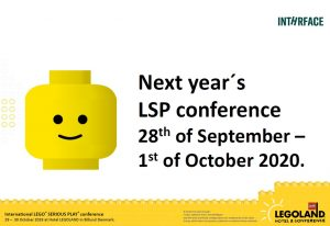 Next year's conference...